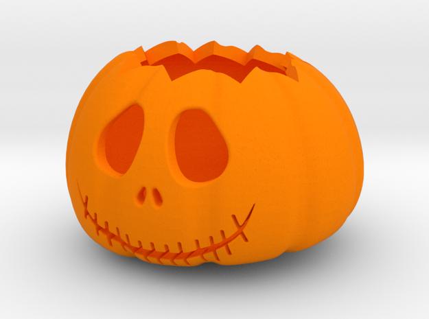 halloween pumpkin part 1 in Orange Processed Versatile Plastic