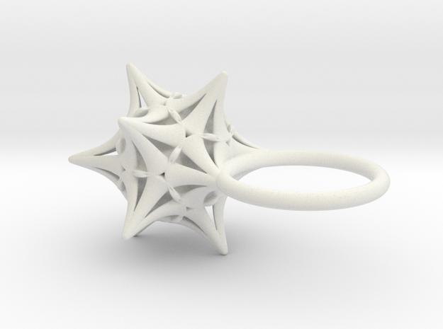 Ersilia -Ring- in White Strong & Flexible