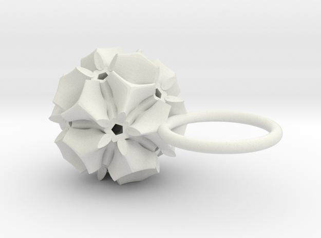 Pyrrha -Ring- in White Strong & Flexible