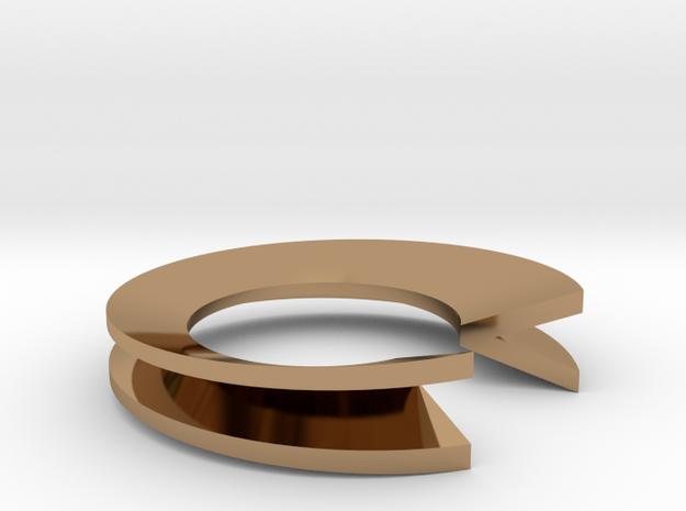 V Letter Ring