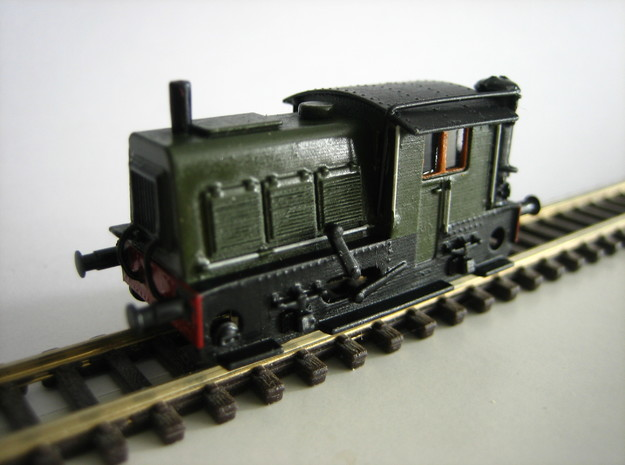 N SIK NS 200-300 locomotor met houtgasgenerator in Frosted Extreme Detail