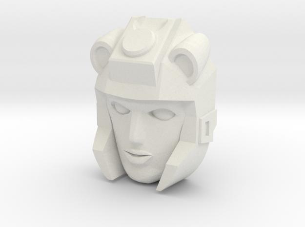 Moonracer Face (Titans Return) in White Strong & Flexible