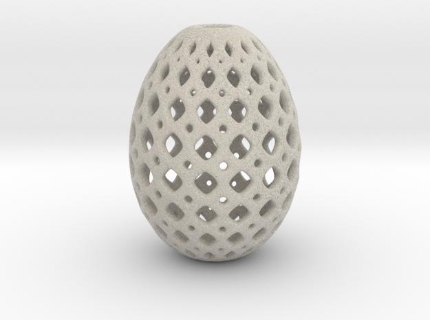 Designer Egg 16 Smooth 1 in Natural Sandstone