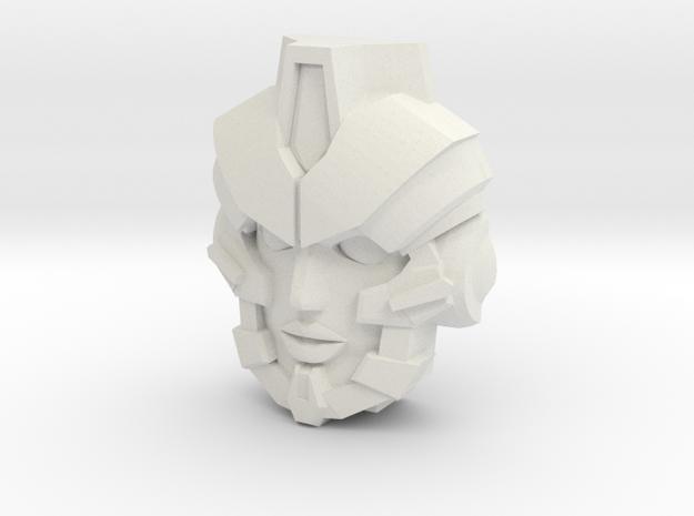 Nautica Face (Titans Return) in White Natural Versatile Plastic