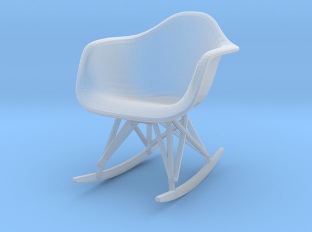 Miniature Eames Molded Shell Armchair Rocker Base
