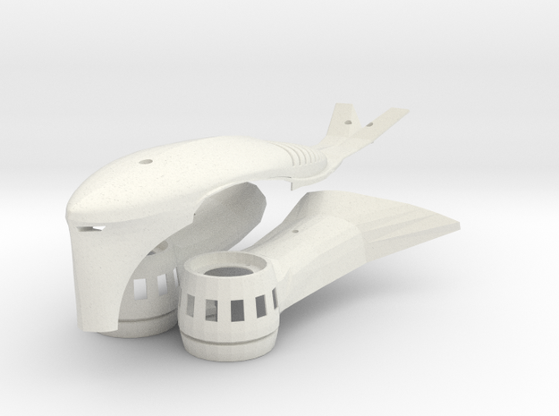 Aerial DRONE Kit for DiaLFonZo Copter vtail 400 3d printed