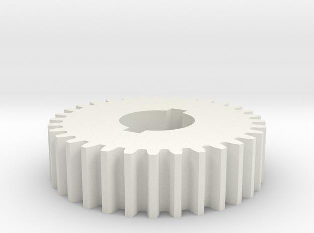 32T Atlas 618/Craftsman 101 Change Gear in White Strong & Flexible