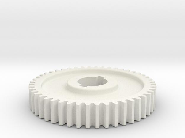48T Atlas 618/Craftsman 101 Change Gear in White Strong & Flexible