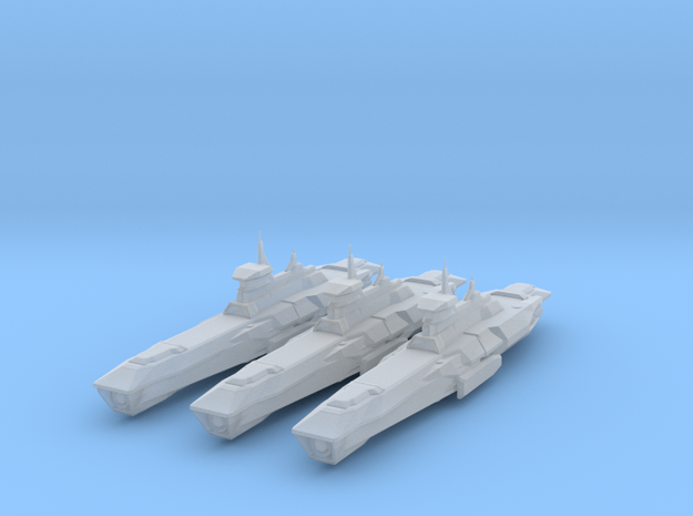 Araan Dynasty Light Cruiser 3 Pack in Smooth Fine Detail Plastic