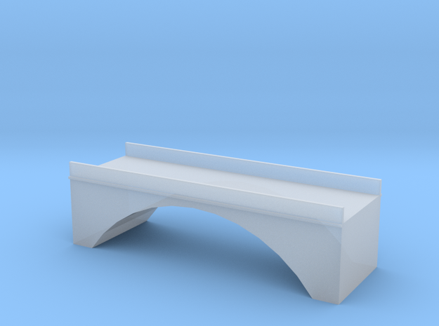 (1:450) Single Arch Double Track 60mm Bridge in Frosted Ultra Detail