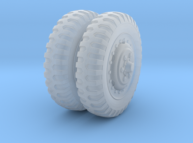 1/48 US Halftrack front wheel tyre NDT