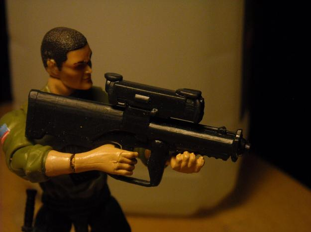 "1/18 XM-25 ""Punisher"" CDTE in Black Hi-Def Acrylate"