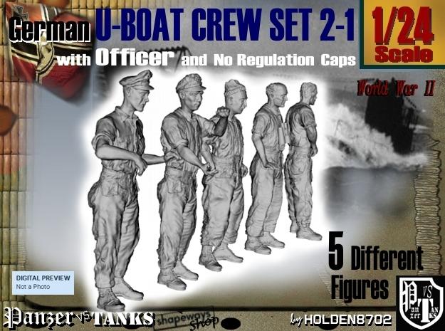 1-24 German U-Boot Set 2-1