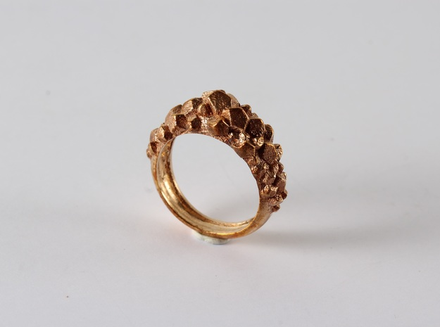 Geode in Polished Bronze