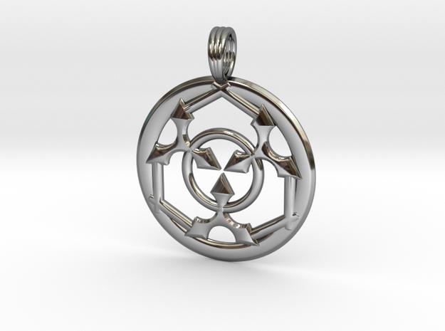TRIPLE VIXEN in Fine Detail Polished Silver