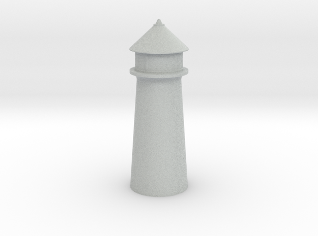 Lighthouse Pastel Blue in Full Color Sandstone