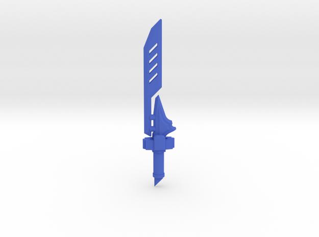 Shock Blade in Blue Processed Versatile Plastic