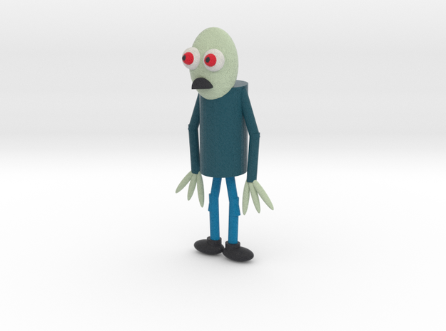 Salad Fingers in Full Color Sandstone