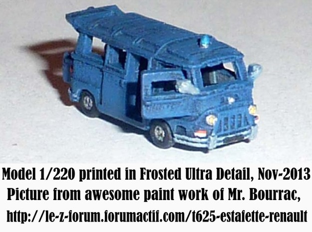 1-220 R-Estafette Microcar SET 3d printed