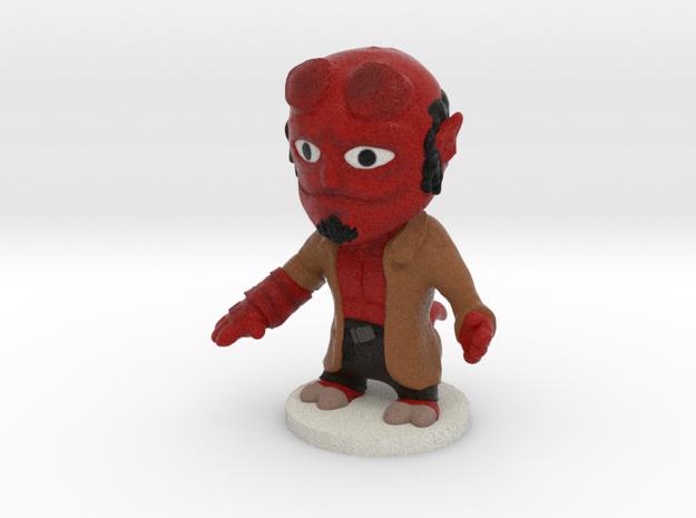 Hellboy W base in Full Color Sandstone