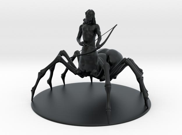 Drider Miniature in Black Hi-Def Acrylate: 1:60.96