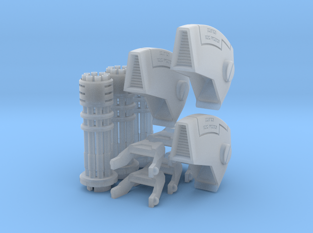 Tsunami Squad Upgrade Kit (Short Barrel, Light) in Smooth Fine Detail Plastic