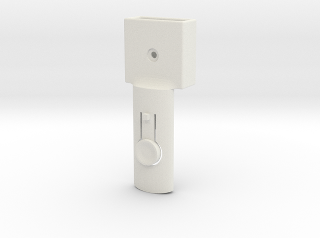 Baby cradle adapter for Quinny Buzz (right) in White Strong & Flexible