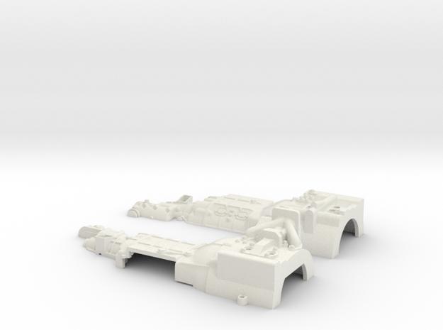 Entex RotaryEngine Gear-Parts in White Natural Versatile Plastic