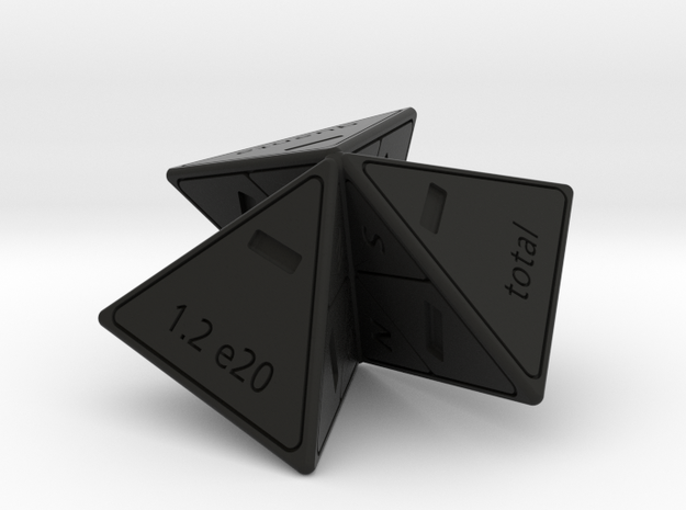 Lepton model in Black Natural Versatile Plastic: Polyhedral Set