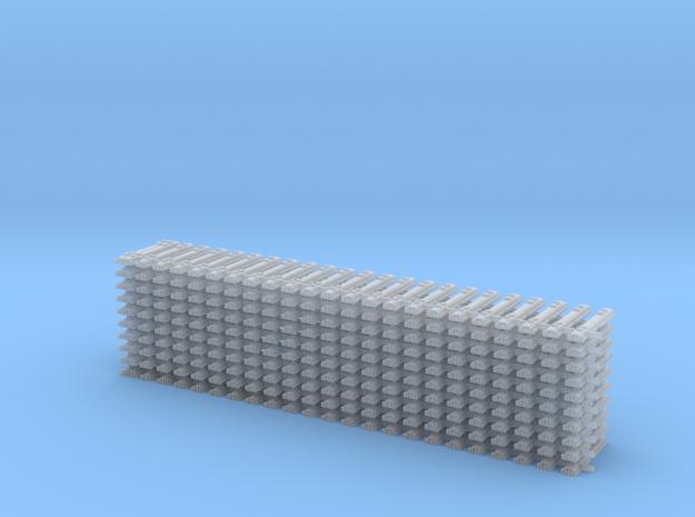 10 Stahlschwelle Gleisjoch Code 55 1:160 in Smooth Fine Detail Plastic