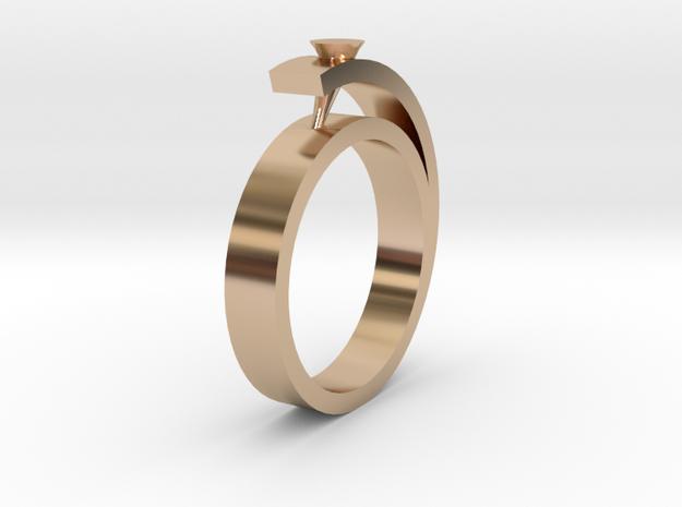 Ring in 14k Rose Gold