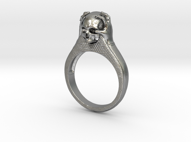 Born to be wild  in Natural Silver