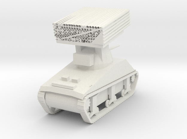 M4 Sherman Calliope in White Natural Versatile Plastic