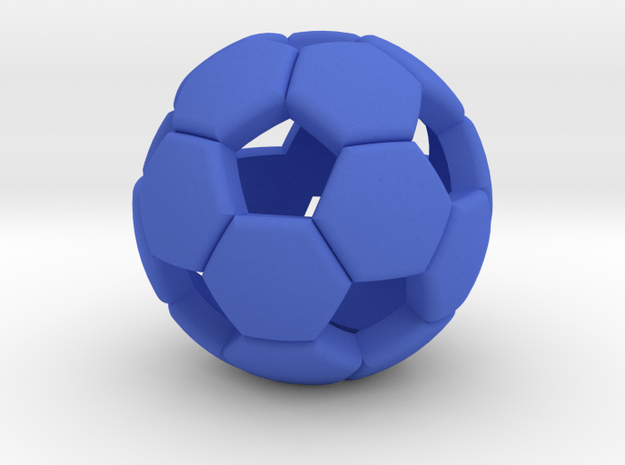 Soccer ball 1505081058 in Blue Processed Versatile Plastic