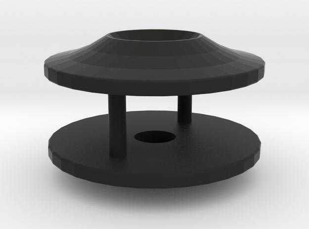 TC Wingmount (shim) in Black Natural Versatile Plastic