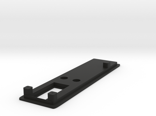 NLPWM Bezel 1.2 No Fire button in Black Natural Versatile Plastic