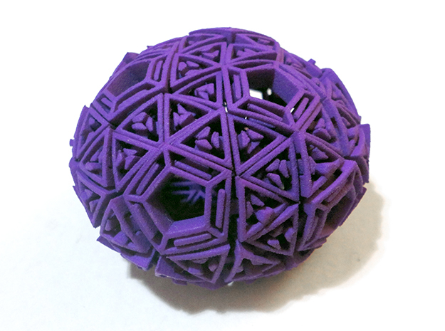 Soft-Boiled Geodesic (6cm)