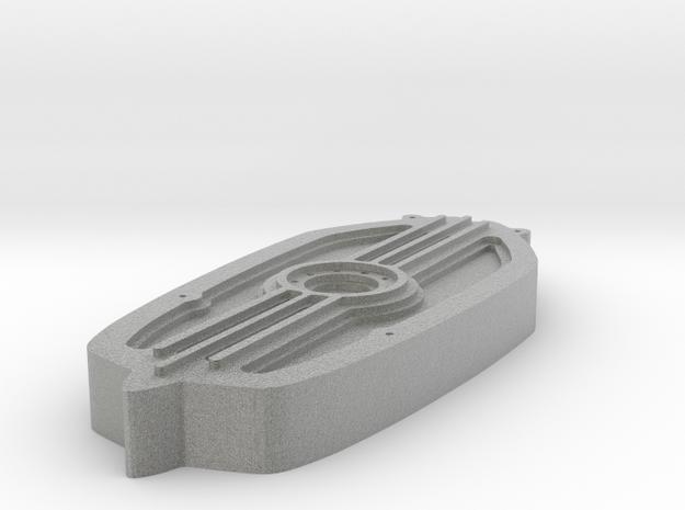 NineT Breast Plate keyring in Metallic Plastic