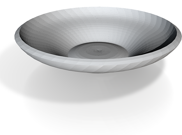 saucer plate 3d printed