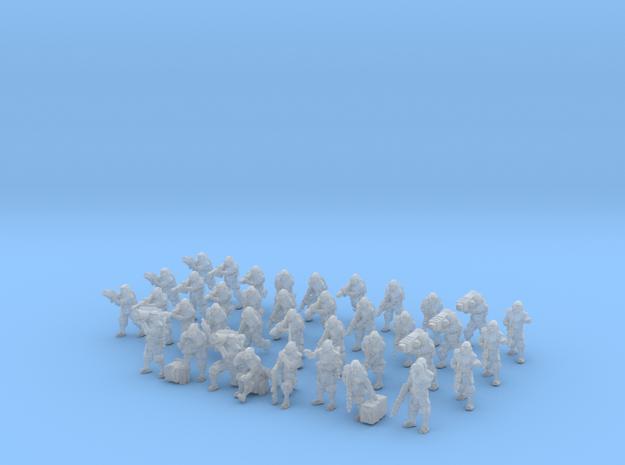 Zeus Pattern Light Infantry Platoon 15mm 38 pieces