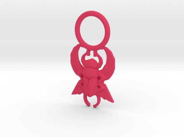 Scarab Pendant 3d printed