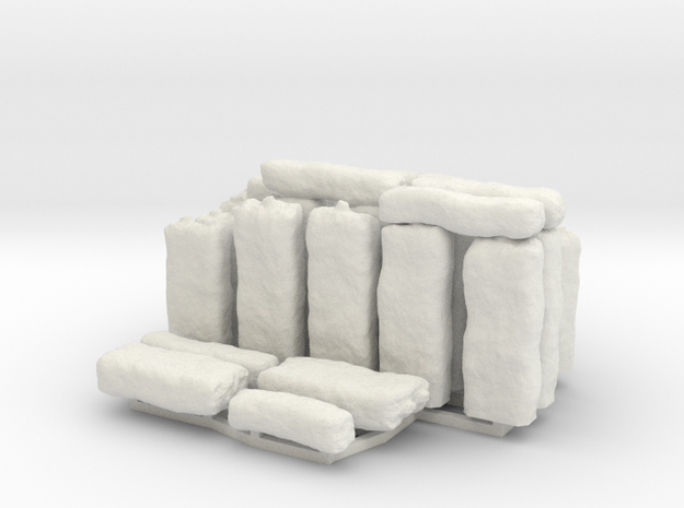 HOPh03 Stonehenge in White Natural Versatile Plastic