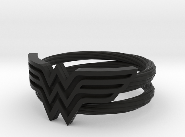 Wonder Woman Ring With Lasso Size 7