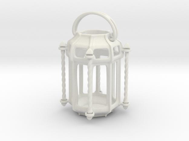 Lantern Octagon Oriental Medival Ironwork: Miniat