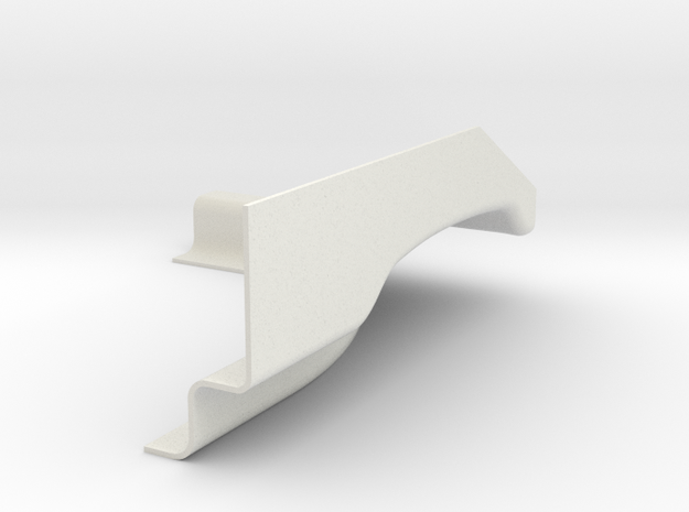 PASS REAR FOR SW.3 in White Natural Versatile Plastic