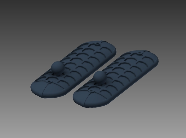 Westland Wasp Float Packs x 2 1/72 in Smooth Fine Detail Plastic