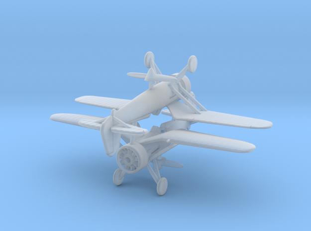 1/200 PZL P11 x2 3d printed