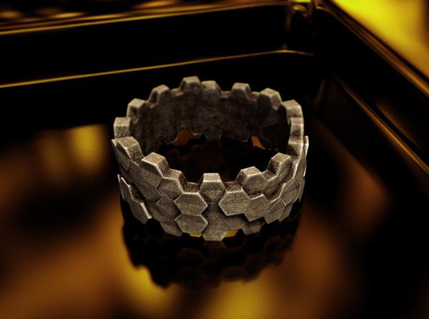 Hengsha ring: size 10 (US) U (UK) 3d printed