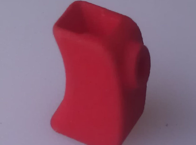 Cover for throttle trigger, Sanwa M12 , M12RS or M in Red Processed Versatile Plastic