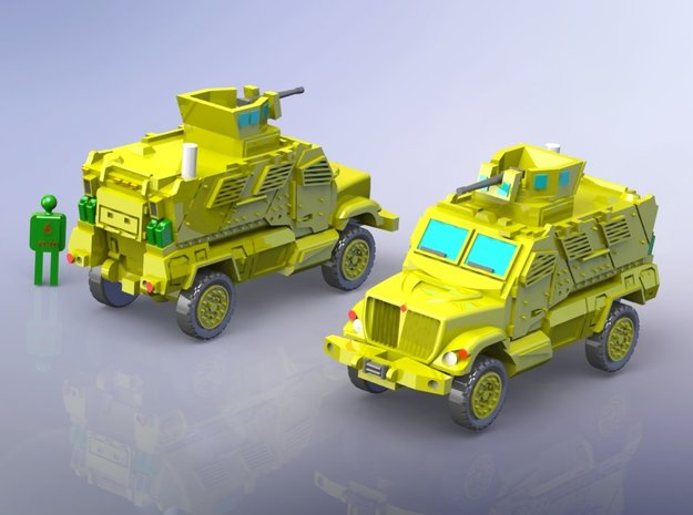 International MaxxPro MRAP Vehicle 1/160 N-Scale